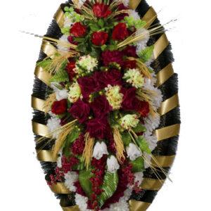 Венки из искусственных цветов элитные