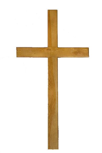 krest iz dereva dub katalicheskiy