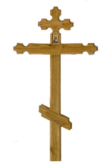 krest iz dereva dub reznoy