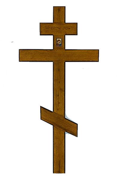 krest iz dereva dub shirokiy