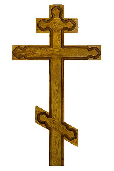 krest iz dereva dub vizantiyskiy