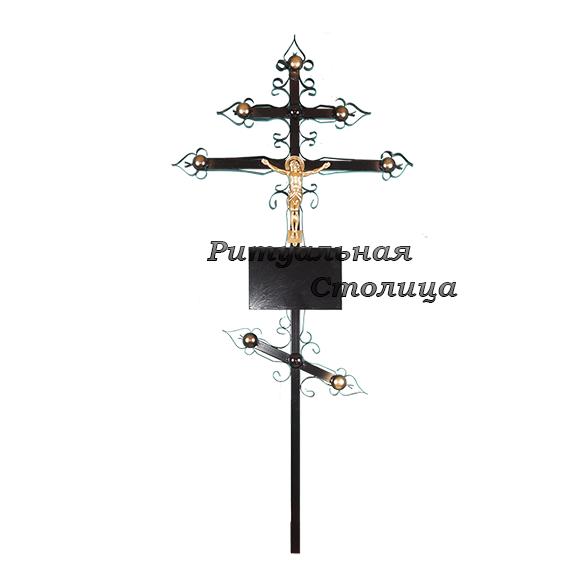 """Крест металлический """"Купола"""""""